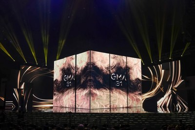 31st Golden Melody Awards Ceremony-Stage (PRNewsfoto/Ministry of Culture of Taiwan)