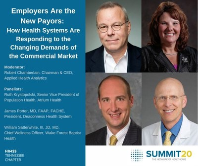 Applied Health Analytics Will Host Panel Tennessee HIMSS Summit20 Virtual Event