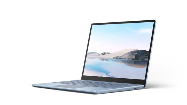 Surface Laptop Go in Ice Blue