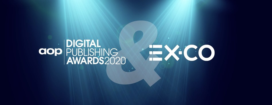 EX.CO will announce The Digital Journalist of the Year award winner and power an interactive content experience to enhance engagement at AOP's Digital Publishing Awards 2020 on October 15th .