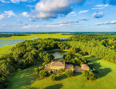On Saturday, October 10th, this luxurious estate on 75 private acres will be sold without reserve at a luxury auction® managed by Platinum Luxury Auctions. The French Country-inspired residence was previously asking $5.3 million, and is located on South Carolina's Saint Helena Island. Discover more at SouthCarolinaLuxuryAuction.com.