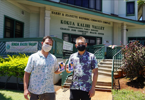 'Ohana Health Plan delivered Samsung Galaxy A10e smartphones to providers at Kokua Kalihi Valley Comprehensive Family Services to support patients in need of telehealth and other services during the COVID-19 pandemic.