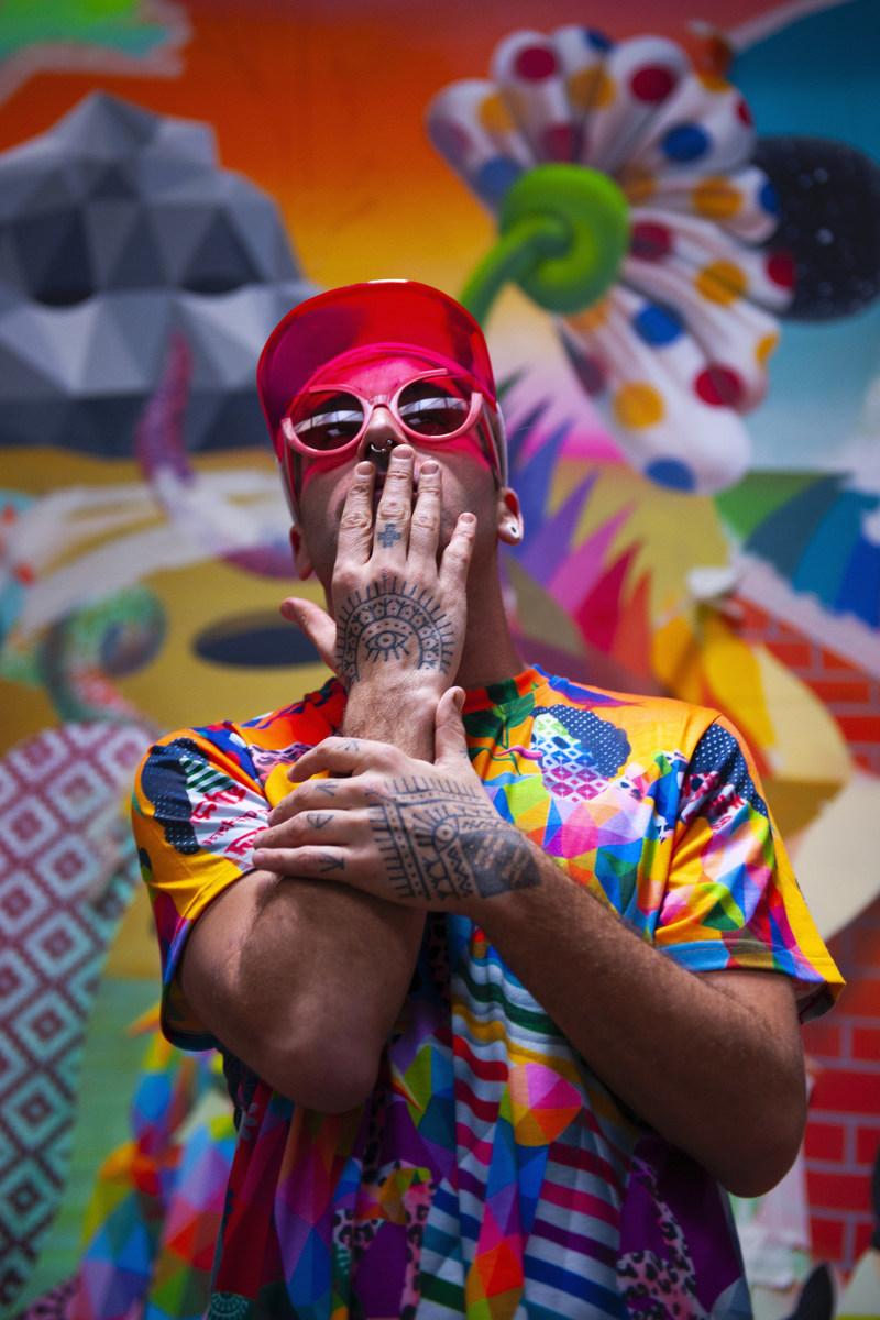 Artist Okuda San Miguel