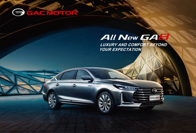 Enjoy luxury driving with the new flagship GA8