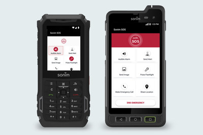 New Sonim SOS App Delivers Powerful Safety-First Capabilities to Ultra-Rugged Devices