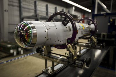 The U.S. Air Force's StormBreaker® smart weapon has a unique tri-mode seeker that allow pilots to hit moving land-based or maritime targets in adverse weather or low visibility.