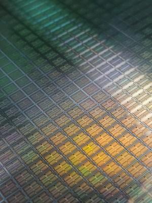 Self-developed silicon wafers (PRNewsfoto/Hesai Technology)