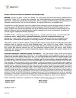 Ovintiv Announces Start-Up of Pipestone Processing Facility (CNW Group/Ovintiv Inc.)