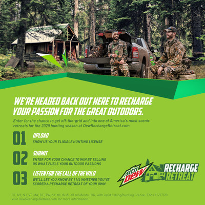 "MTN DEW LAUNCHES ""RECHARGE RETREAT."""