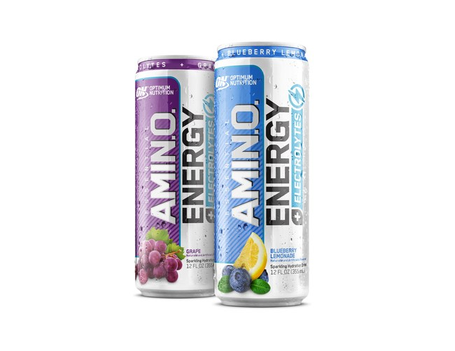 OPTIMUM NUTRITION ESSENTIAL AMIN.O. ENERGY PLUS ELECTROLYTES SPARKLING HYDRATION DRINK NOW AVAILABLE AT SPEEDWAY LOCATIONS NATIONWIDE