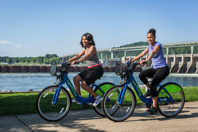 Shift Transit Oversees Bike Chattanooga's Record-Breaking Success (CNW Group/Shift Transit Inc.)