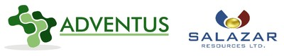 Salazar Resources Ltd.,Adventus Mining Corporation Logos (CNW Group/Adventus Mining Corporation)