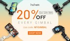 Hohem Tech Introduce The Best Gimbal Discount Deals on 2020 Amazon Prime Day
