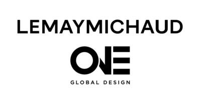 logo de LEMAYMICHAUD et ONE Global Design (Groupe CNW/LEMAYMICHAUD Architecture Design)