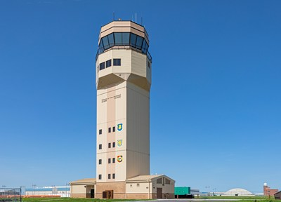 McConnell Air Force Base Air Traffic Control Tower