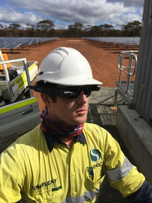 SpringCity Energy Technicians Increase Productive Output by 40% Using Vuzix M400 Smart Glasses