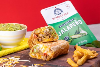 Bumble Bee® tuna and hash burritos, a nod to San Diego's beloved California Burrito.