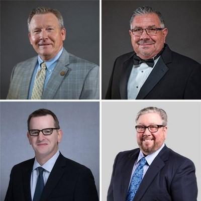Clockwise: Gary Johnson, Leo Duran, John Gessner, and Jonathan Horowitz