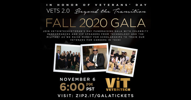 VetsinTech Virtual Veterans' Day Gala 2020
