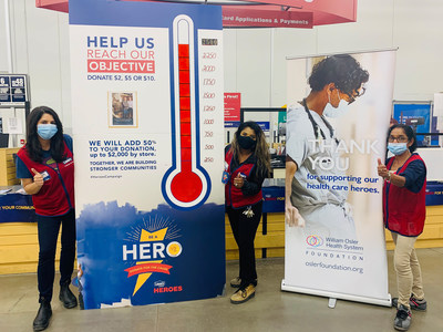 Lowe's Canada announces that a total of over $2.1 million will be donated to more than 235 non-profit organizations and public schools across the country whose actions make them true heroes in their communities. This year, for the very first time, 47 stores affiliated with the RONA banner and five distribution centres in the network joined Lowe's, RONA, and Réno-Dépôt corporate stores in this flagship campaign. Throughout September, 289 Lowe's Canada network sites joined forces to raise funds in support of their chosen partner organization's mission or specific project (CNW Group/Lowe's Canada)