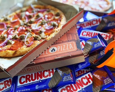 CRUNCH BAR® AND BLAZE PIZZA® TEAM UP TO MAKE THIS HALLOWEEN A LITTLE SWEETER