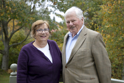 Marie and Marc Bieler have made a transformative gift to McGill in support of the School of Environment. (CNW Group/McGill University)