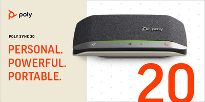The Poly Sync 20 is among the first to receive Zoom's USB speakerphone certification.