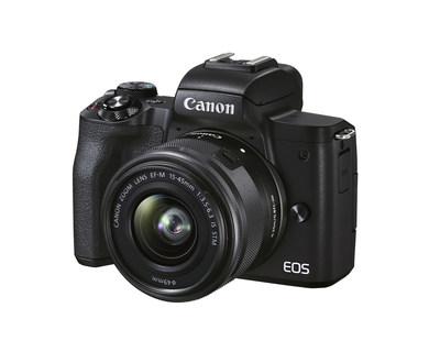 Canon EOS M50 Mark II (PRNewsfoto/Canon U.S.A., Inc.)