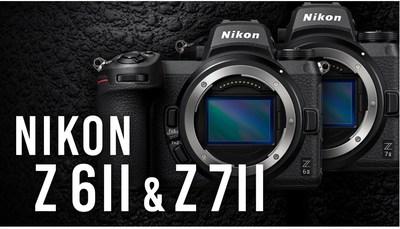 Nikon Z6 II and Z7 II Mirrorless Digital Cameras