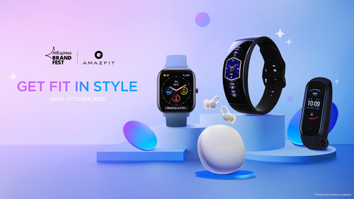 Amazfit x AliExpress Brand Fest to be Held with Amazfit ZenBuds Special Offer from October 20th to 21st