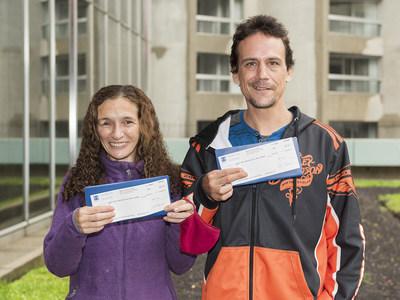 Rita Lesage et Shawn Marchand (Groupe CNW/Loto-Québec)