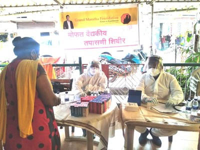 Grand Maratha Foundation conducts health check-up of tribals in Yeoor Hills, Thane