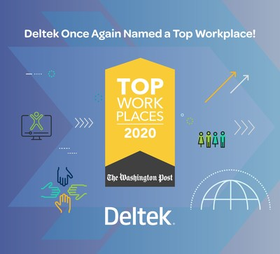 Deltek Ranked #11 Top Workplace by The Washington Post