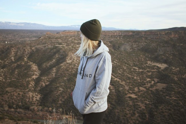Foreland's 100% Recycled Hoodie and Beanie