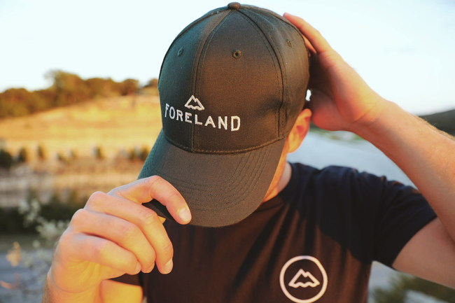Foreland's 100% Recycled Shirt and Cap