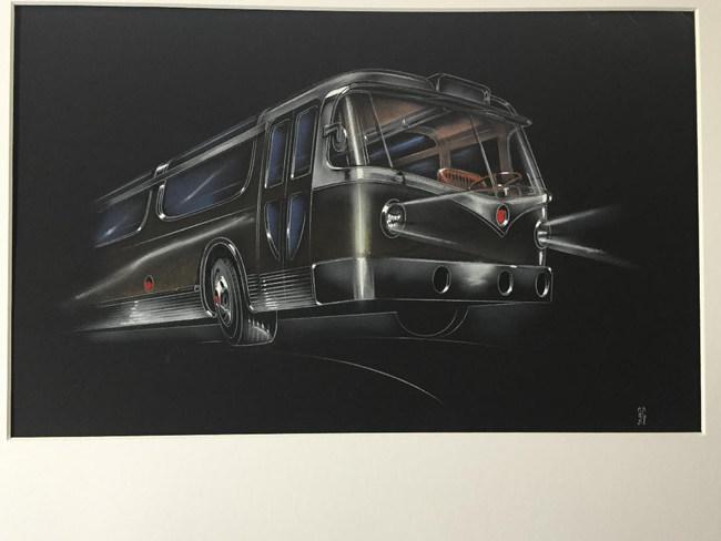 Bus of Tomorrow - Count Alexis de Sakhnoffsky - 1956
