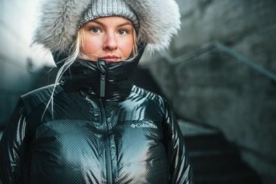 Columbia Sportswear lance Omni-Heat Black Dot, une première dans l'industrie en matière de technologie de réchauffement (Groupe CNW/Columbia Sportswear)