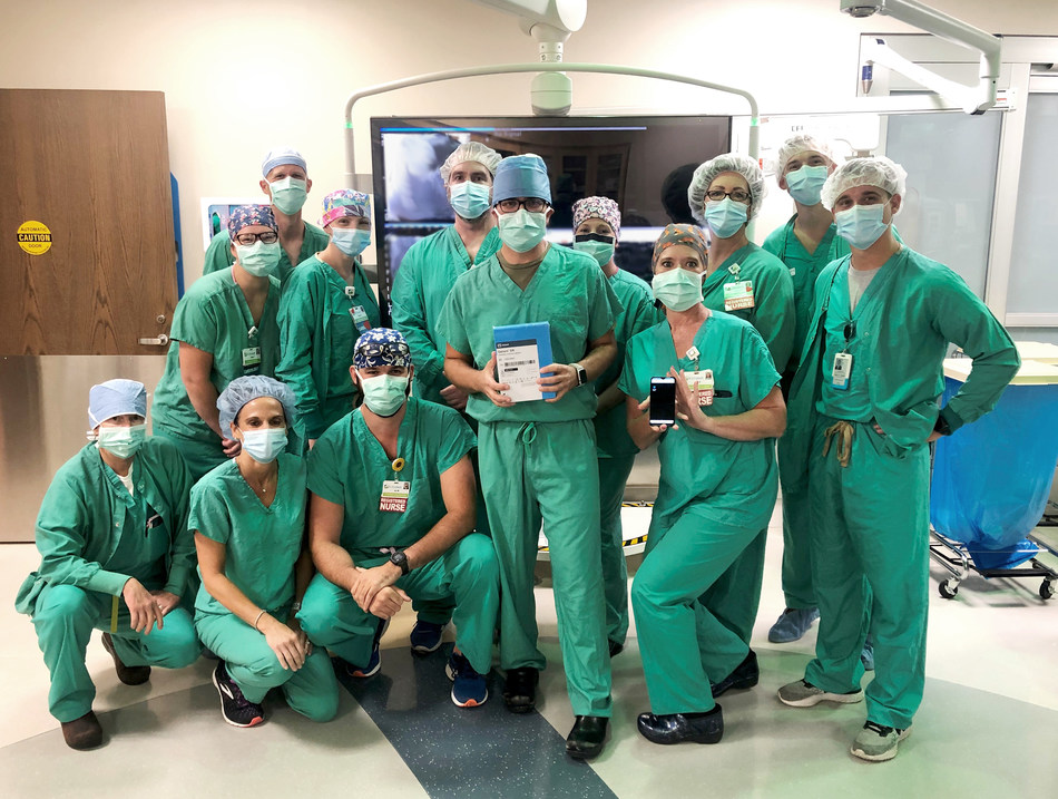 Nation's first implant of bluetooth-connected heart device performed by team at St. Elizabeth Healthcare in Northern Kentucky