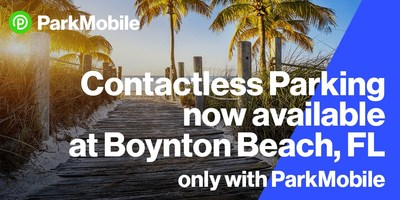 The ParkMobile app will be available at nearly 400 off-street spaces at Oceanfront Park Beach and Harvey Oyer Park.