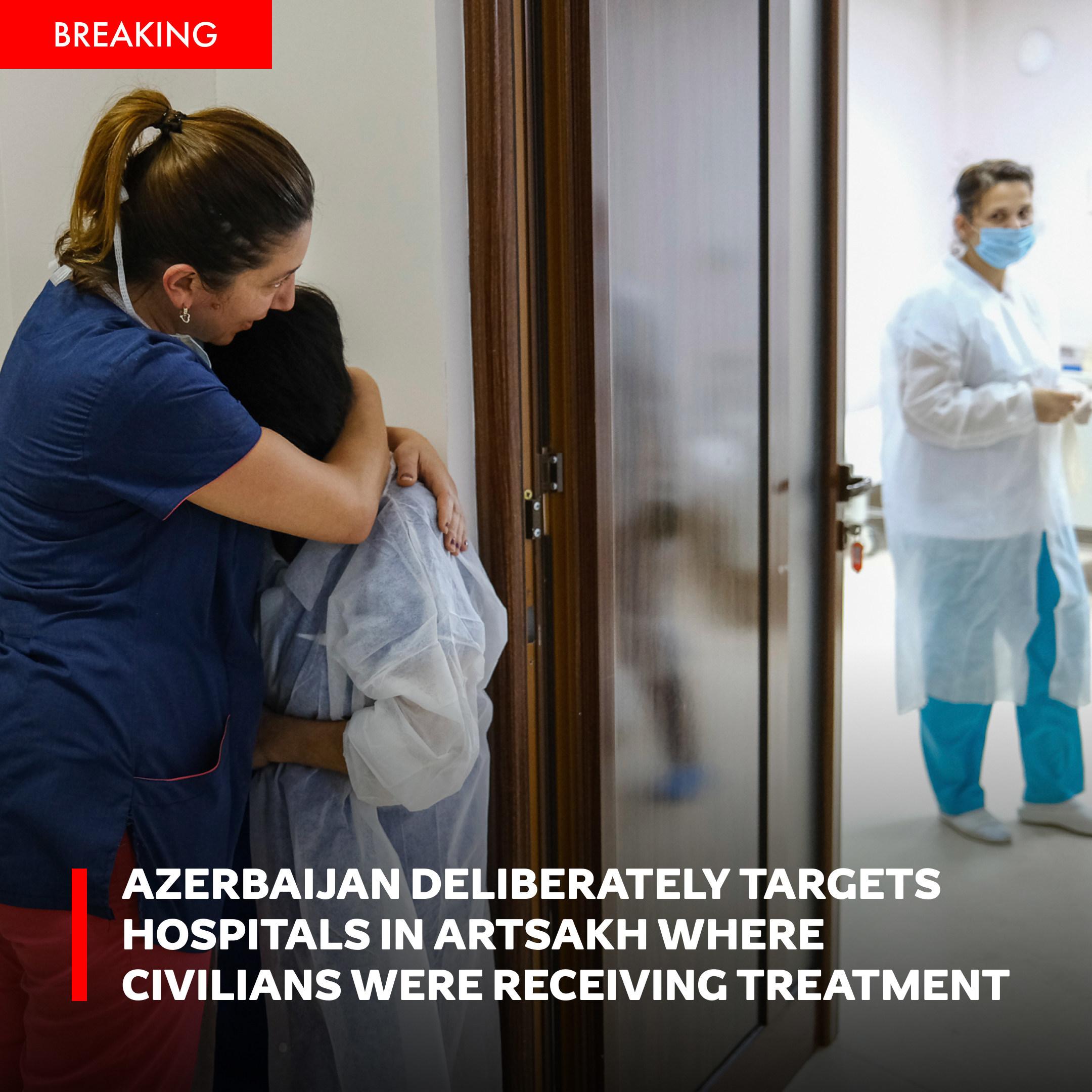 Global Awareness Initiative Reports Azerbaijan Deliberately Targets Hospitals And Kindergartens In Nagorno Karabakh