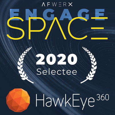 HawkEye 360 Selected as one of the top 26 participating teams in AFWERX Engage Space competition.