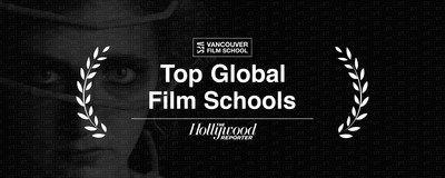 Vancouver Film School is listed among The Hollywood Reporter's Top 15 International Film Schools of 2020. (CNW Group/Vancouver Film School)