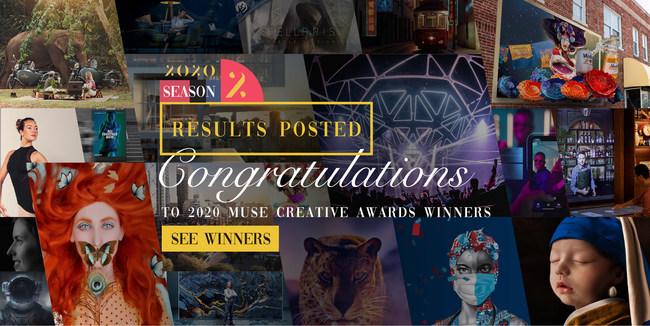 2020 MUSE Creative Awards: Season 2 Results Announced! Congratulations to all winners!
