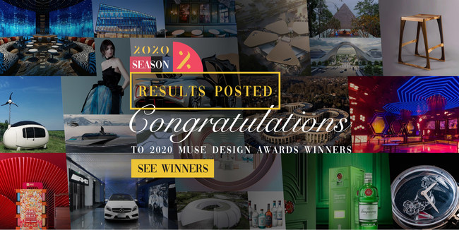 2020 MUSE Design Awards: Season 2 Results Announced! Congratulations to all winners!