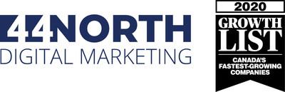 Logo: 44 North Digital Marketing (CNW Group/44 North Digital Marketing)