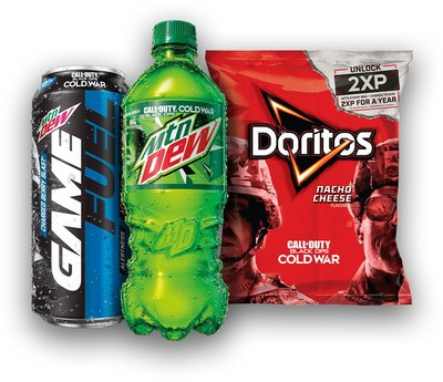 Mtn Dew, Mtn Dew Game Fuel, and Doritos are joining forces once again with Activision's popular Call of Duty® franchise, for the launch of Call of Duty®: Black Ops Cold War