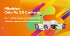 A Hikvision lança as câmeras ColorVu 2.0 agora com opções 4K e varifocais