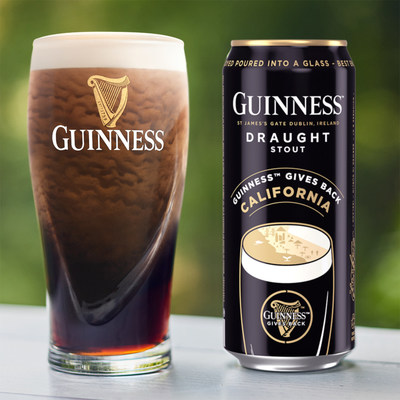 Guinness Gives Back California Can