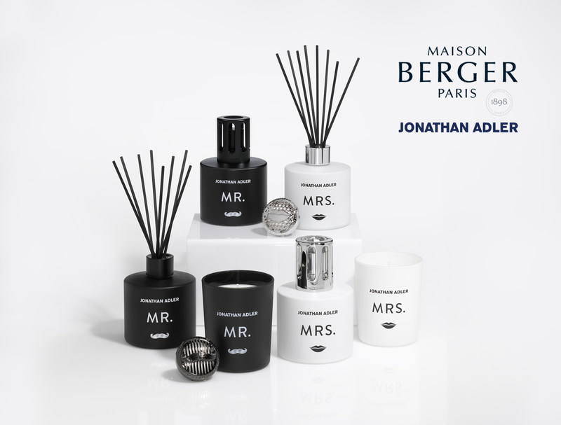 Maison Berger X Jonathan Adler: Mr. and Mrs. collection