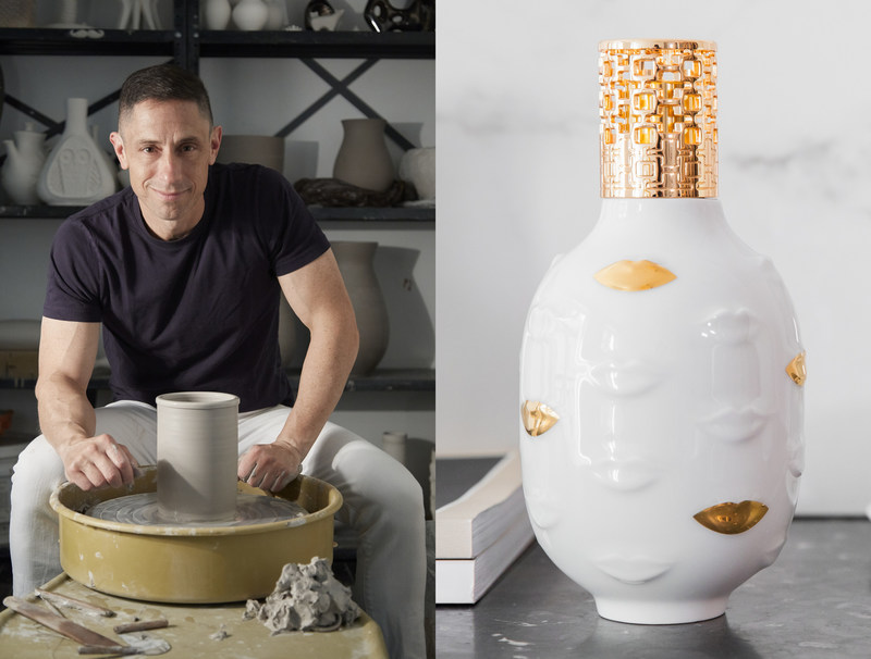 Maison Berger catalytic lamp from Jonathan Adler's Muse collection.